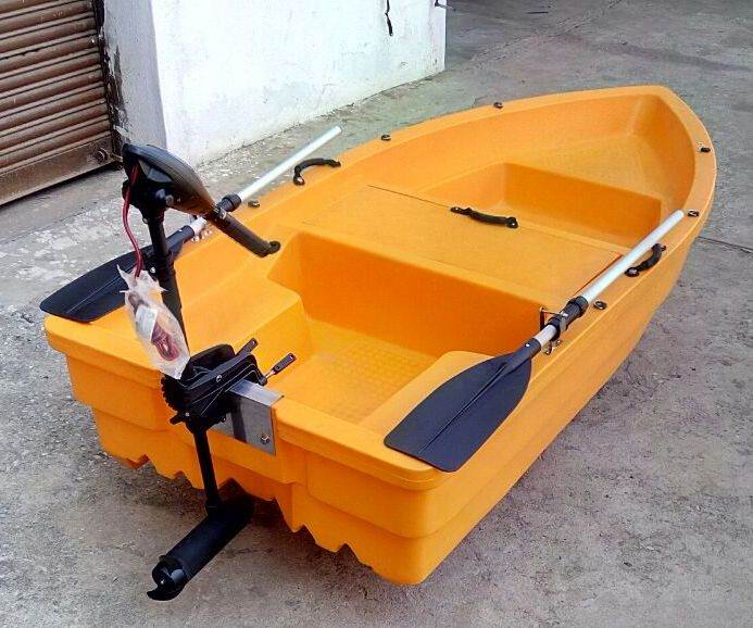 Eco friendly electric motor boat 3 person for Buy bass boat without motor